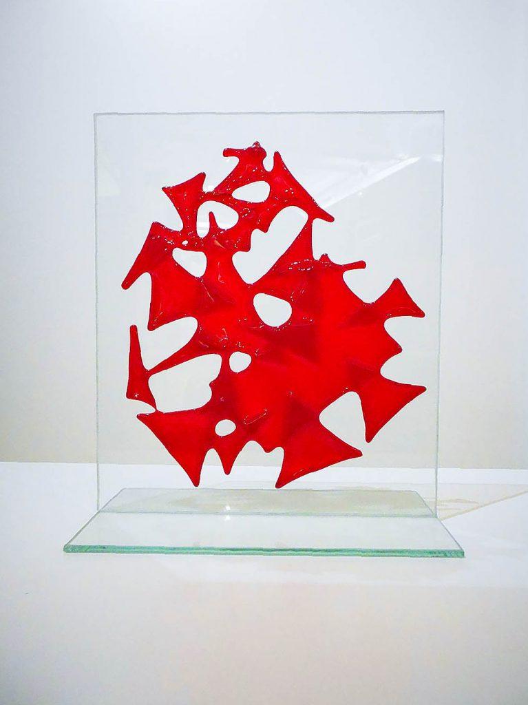 Décoration Abstrait rouge