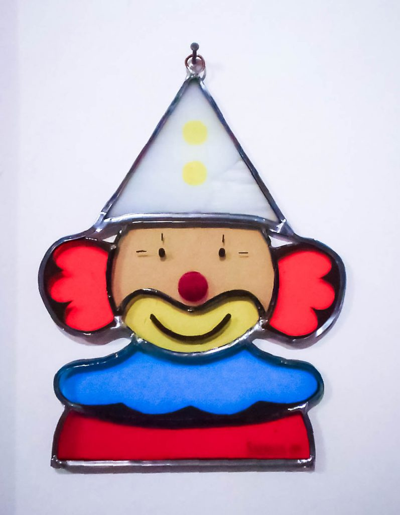 Clown à suspendre