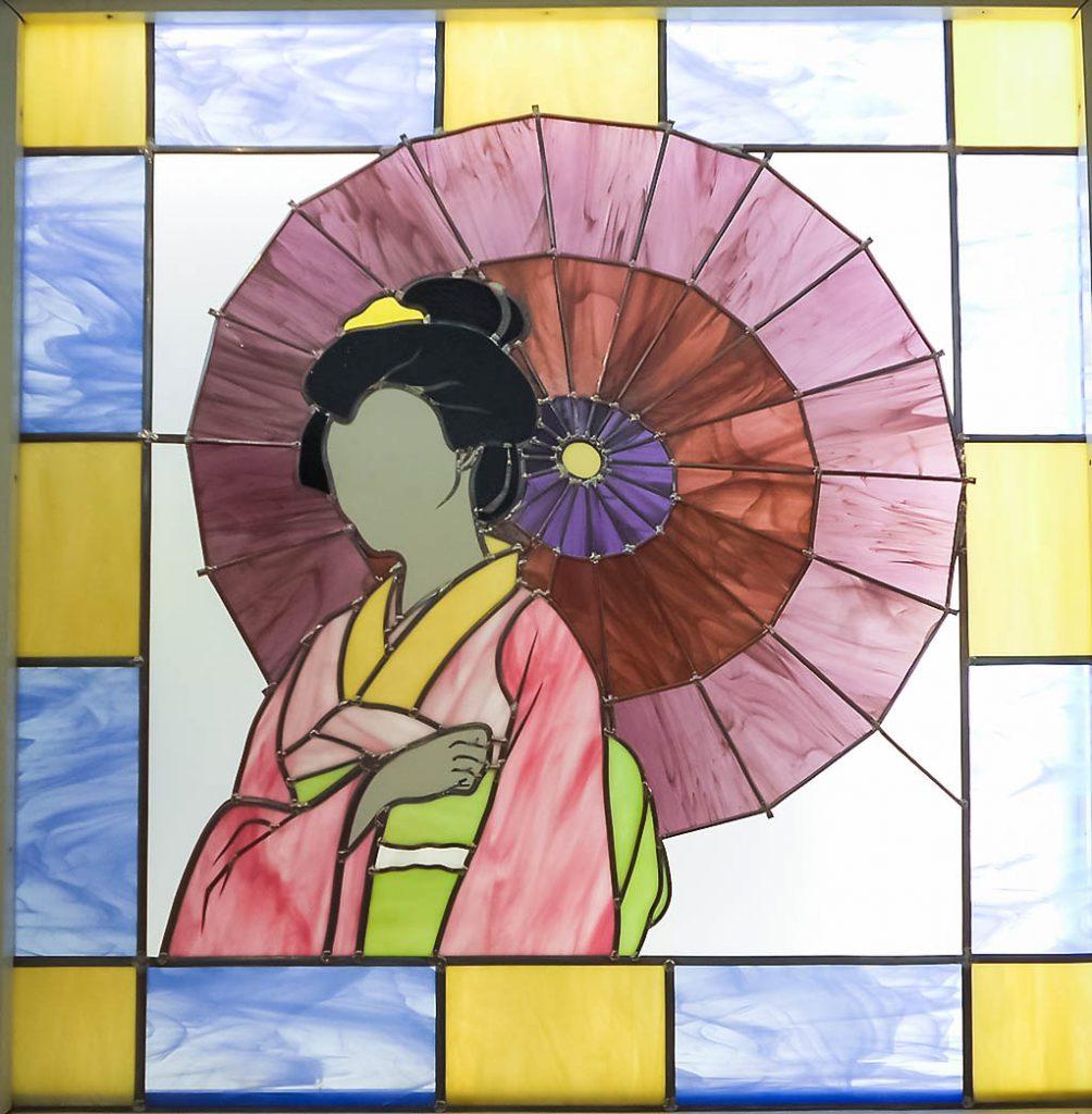Japonaise à l'ombrelle